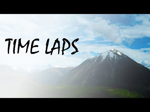 TIME LAPS SWITZERLAND MOUNTANS/CLOUDS 4K (видео)