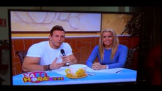 Diego Sechi talking about interesting nutrition topics on the national Mexican TV, channel 10. SHARE AND SUBSCRIBE TODAY!! Constant uploads on Nutriton, Fitn...