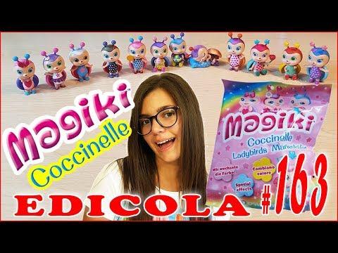 EDICOLA #163: MAGIKI COCCINELLE (Unboxing collezione completa by Giulia Guerra) (видео)