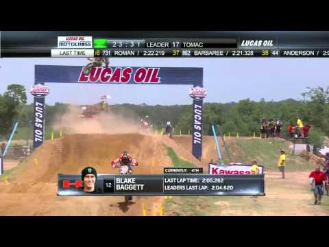 Freestone 250 Moto 1: Blake Baggett Throws a Huge 30+ Foot Air into the Whoops
