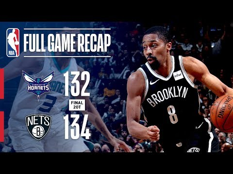 Video: FULL GAME RECAP: HORNETS VS NETS | DOUBLE OVERTIME THRILLER