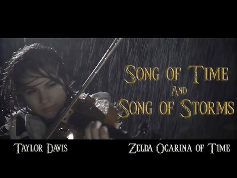 Song Of Time And Song Of Storms Violin Cover by Taylor Davis