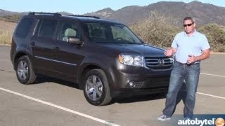 2013 Honda Pilot Test Drive&Crossover SUV Video Review