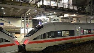 Berlin Südkreuz - CNL 450, ICE-T-Trennung und mehr