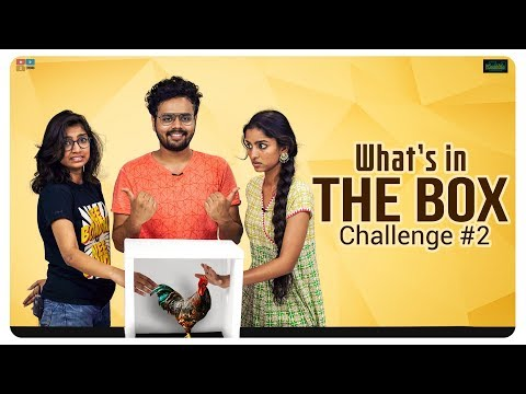 What's In The Box Challenge Part- 2 Ft. Vidya and Divya || Kaasko || Tamada Media