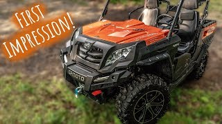 1. Cfmoto Uforce 800 EPS \\ 2018 UTV Walk Around