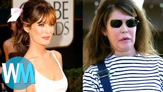 Video Top 10 Celebrities with TERRIBLE Plastic Surgery MP3, 3GP, MP4, WEBM, AVI, FLV Maret 2018