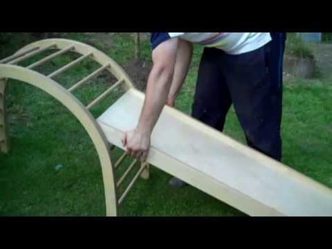 Klettergerüst Drinnen : Ein märchenhaftes klettergerüst für drinnen selben bauen
