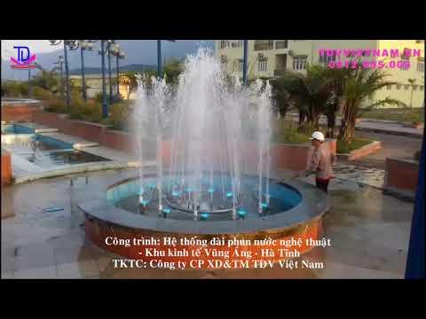Hệ thống đài phun nước khu kinh tế Vũng Áng, Kỳ Anh, Hà Tĩnh