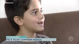Menino de sete anos pede paciência com a pandemia em música composta com o pai