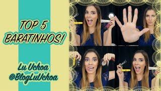 Vídeo: Top 5 Baratinhos encontrados no Brasil