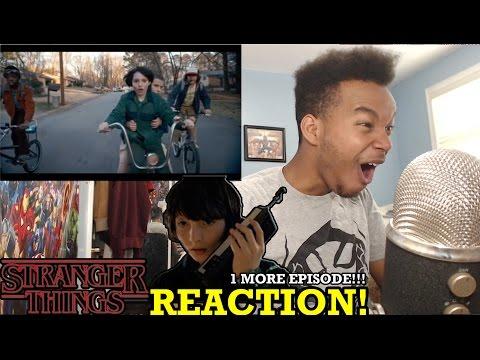 "Stranger Things Season 1 Episode 7 ""The Bathtub"" REACTION!"