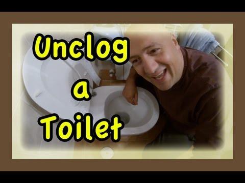 Sturare il water con compressore ( Prodottoitalico ) How to Fix a Clogged Toilet