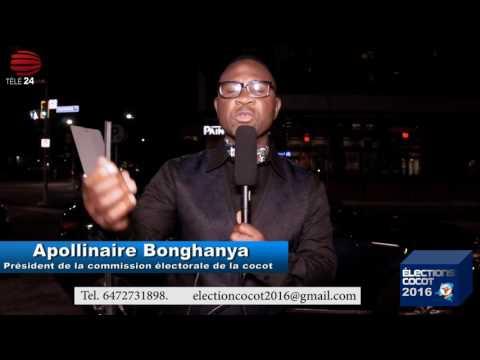 TÉLÉ 24 LIVE: Le président de la commission électorale de la Cocot lance un message au congolais de Toronto