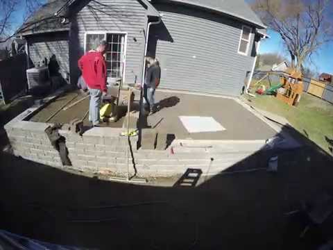 , title : 'Chanhassen Time Lapse Video: Raised Patios'