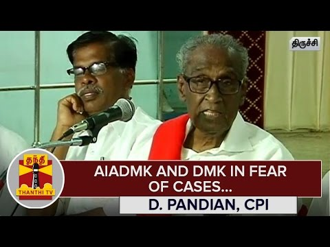 AIADMK-and-DMK-in-Fear-of-Cases--D-Pandian-CPI--Thanthi-TV