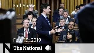 Download Video WATCH LIVE: The National for February 19, 2019 MP3 3GP MP4