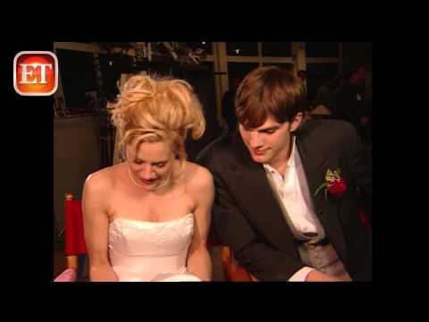 Flashback: Kutcher & Murphy Are 'Just Married'