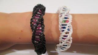 Rainbow Loom - Spirilla Bracelet (Variation of the
