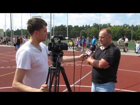 Wywiadu udziela organizator Rafał Glanert.