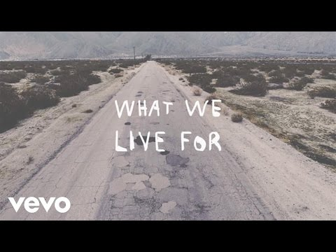 What We Live For (Lyric Video)