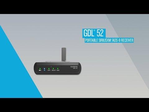 GDL 52 Portable SiriusXM/ADS-B Receiver: In-flight Demo
