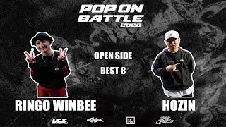 Ringo Winbee vs Hozin – POP ON BATTLE 2020 Open side Best 8