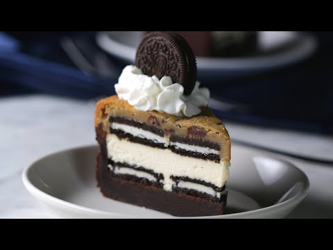 Download 5-Layer Brownie Cookie Cheesecake HD Mp4 3GP Video and MP3