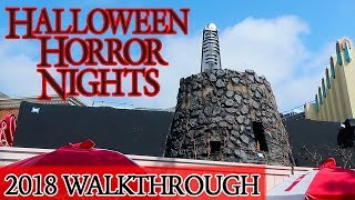 Halloween Horror Nights Walkthrough 2018 | Universal Studios Hollywood