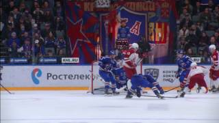 Сhernov feeds Jerabek with an amazing assist