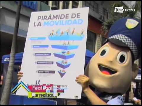 Peatonización de avenida 9 de Octubre por realizarse Parking Day en Guayaquil