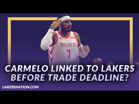 Video: Lakers News Feed: Carmelo Anthony Linked To The Lakers Before The Trade Deadline?