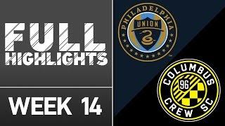 HIGHLIGHTS: Philadelphia Union vs. Columbus Crew SC | June 1, 2016 by Major League Soccer