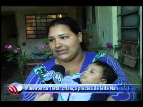 Fala Cidade 09/07/2013   Mineiros do Tietê = criança precisa de leite NAN