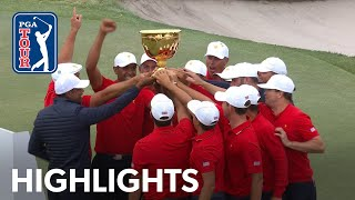 Highlights   Day 4   Presidents Cup 2019 by PGA TOUR