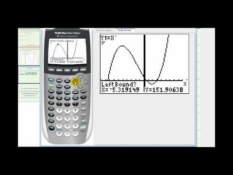 Ex:  Solve a Polynomial Equation Using a Graphing Calculator (Approximate Solutions)