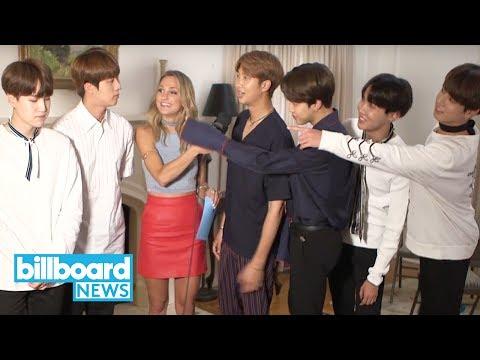 BTS Reacts to Jins Third Member From the Left Viral Moment | Billboard News_Zene videók