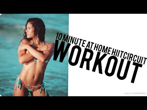 AT HOME HIIT WORKOUT (видео)