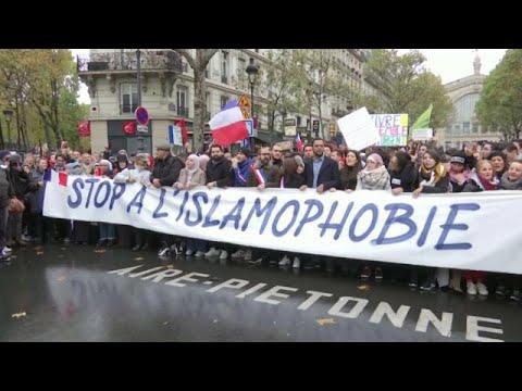 Πορεία κατά της ισλαμοφοβίας στο Παρίσι