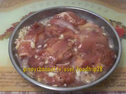 Homemade Chicken Tocino