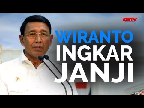 Wiranto Ingkar Janji