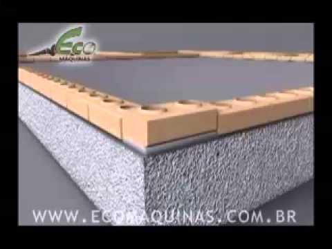 Лего-Кирпич - подготовка основания и армирование несущей стены