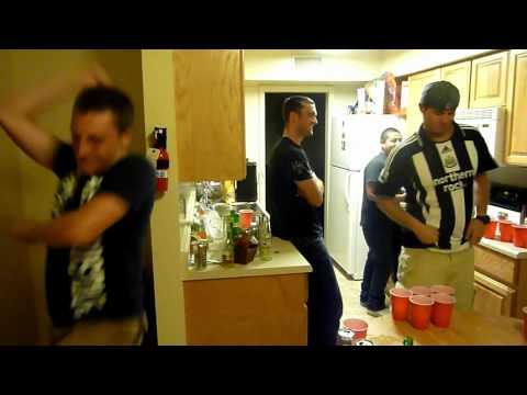 Beer Pong Gangnam Style!