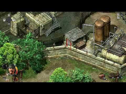 Commandos 2 remastered, PS4 gameplay, no talking.