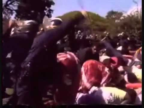 Sit-in à Nouméa en août 1987…