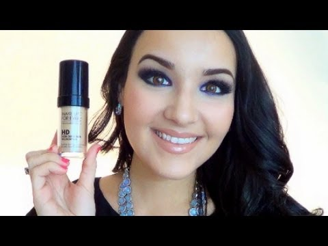 Makeup Forever HD Foundation Review + Demo