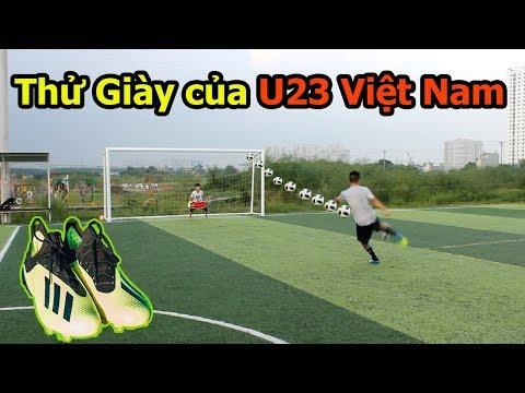 Thử Thách Bóng Đá sút Vô Lê như Ronaldo với giày của Đoàn Văn Hậu , Phan Văn Đức U23 Việt Nam - Thời lượng: 12:25.