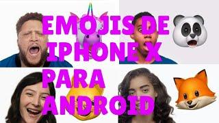EMOJIS DE IPHONE X PARA ANDROID