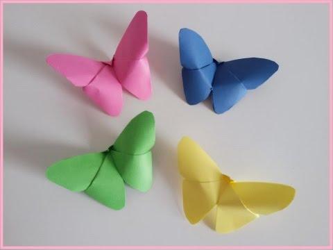 Farfalla di carta (Origami) || Mami Crea