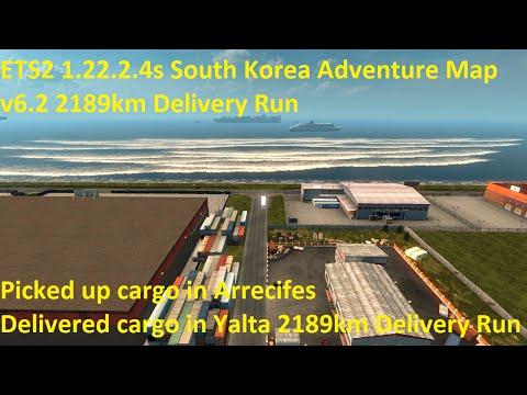 South Korea Adventure Map v6.3